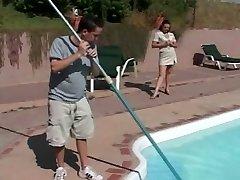 MILF Lures the Pool Dude - Cireman