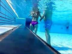 french mature at pool