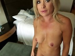 Mature Light-haired Cougar Pov