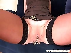 I am Pierced marina with 15 slit rings ass fucking sex