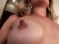 Diminutive saggy tits with humungous nipples