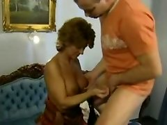 Sandy-haired Mature German Mother