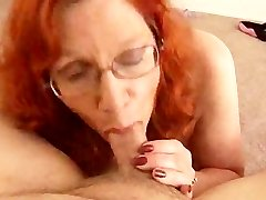 Big-titted Sandy-haired Mature