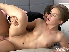 MOM Wet milf takes rock hard fuckpole doggystyle