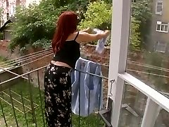 Wondrous  Mature Wife Attacked While Hanging Laundry - Cireman