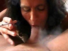 Italian Mummy Smoking Fetish
