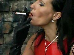 Girl Tasha 1 smoking
