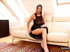 Mercedes Platinum Solo Masturbation Pussy Fondle