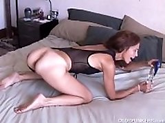 Mature first-timer luvs it anal