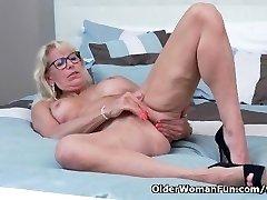 Canadian milf Bianca indulges in masturbation