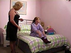 Grandmother slaps grandaughter 1