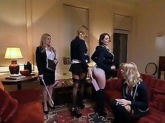 Finest pornstars Georgie Lyall, Samantha Bentley and Lexi Lowe in killer lesbian, anal xxx clip