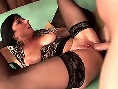 Sexy mature in stockings ravages indeed good (TOP MATURE)