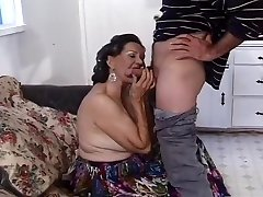 Elder Man Offers His Wife To A Young Stud