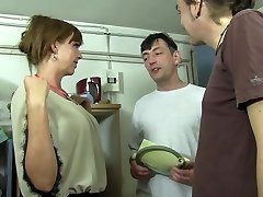 Reife Swinger - Super-fucking-hot MMF three-way with lusty mature German