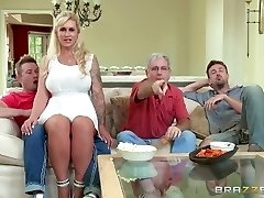 Brazzers - Step-mother takes some young trunk