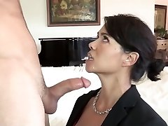 Son fucks his asian stepmother