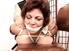 Vanessa teacher Bondage first-ever time screw