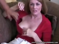 Wicked Threeway For Inexperienced GILF Melanie