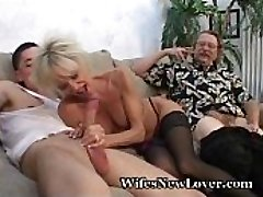 Senior MILF Pleasured By Young Paramour