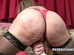 Mature tramp Sandie Marquez stuffs her cunt with a toy