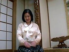 52yr old Grannie Toyomi Furui gets Creamed (Uncensored)