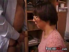 Ugly Mature Nymph Gets Nailed