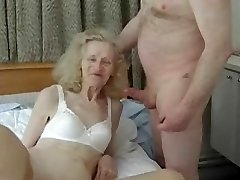First-timer ugly granny gets banged doofy