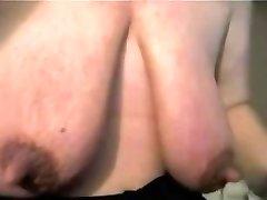 Mature with enormous clit and enormous saggy baps - negrofloripa