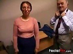 Gross Mature Woman Gets Fucked By An Elder Fart