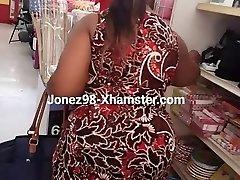 Ebony granny upskirt Pt 1