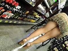 Candid Mature Panty - Good-sized Butt Spycam - Bendover Ass