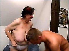 young guy fucks 70 yo ugly fat grandmother oma