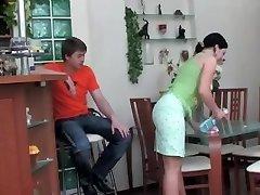 Gwendolen - Houseworking Super Hot Ass Step-mother
