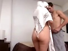 Hot Arab Milf Large Ass fucked hard by Euro guy