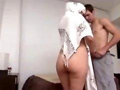 Hot Arab Milf Big Ass torn up hard by Euro guy