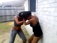 Crazy ebony mommies in a fight with lots of nudity