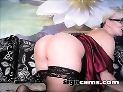 Sex auditions with sassy mature director with big baps