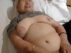 80yr older Chinese Granny Still Loves to Fuck (Uncensored)