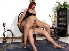 very sexy mature red hair ass-fucked