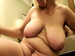 Blonde Mature Smashed In A Public Mall Rest Room
