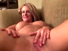 Mature next door undressing and jerking