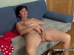 Horny superstar in Incredible Unshaved, Masturbation xxx video