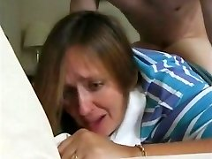 recently divorcee mom janet & her first anal