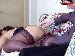 Inexperienced Russian mom gets fucked in the pink hole
