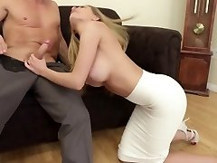 Irresistible Russian Blonde Subil Lures Her Boss