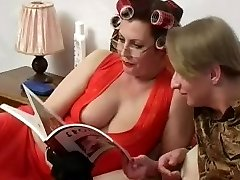 Busty Mom Helga and Slava 1