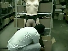 2 Office Girls Fucked In Warehouse