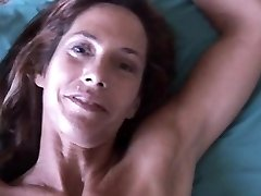 Slender older babe enjoys a hard cock in her tight asshole