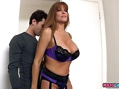 Mature Lingerie Woman wants a nice Young Beef Whistle